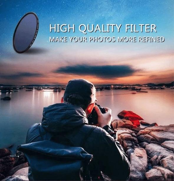 Professional Photography Adjustable ND ND2-400 O1V5 V7Q1