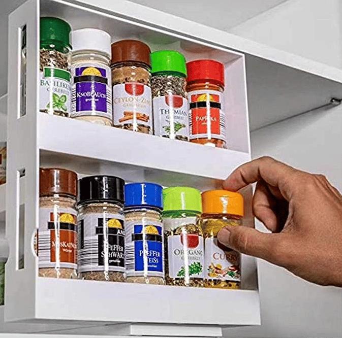 Multi Function Storage Rack Pull Out Kitchen Storage