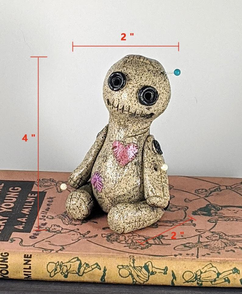 OOAK, Voodoo Doll Cone Burner, Incense Burner