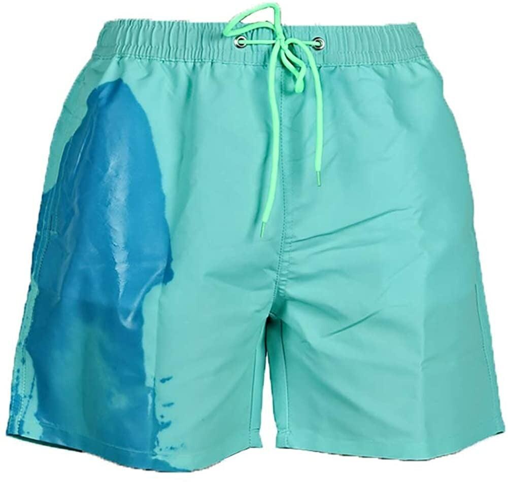 Temperature Sensitive Beach Swim Shorts Sietore Men Summer ...