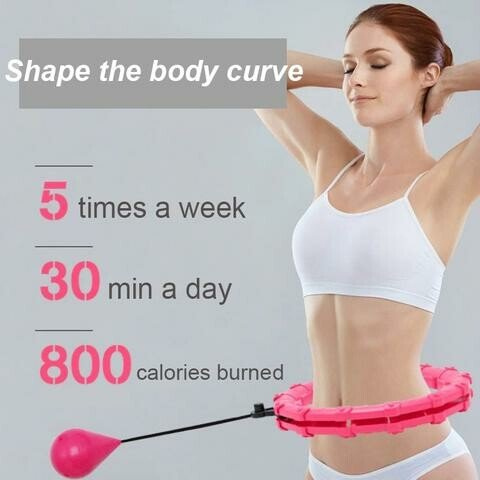 Smart Hula Hoop THE #1 WAY TO STAY FIT