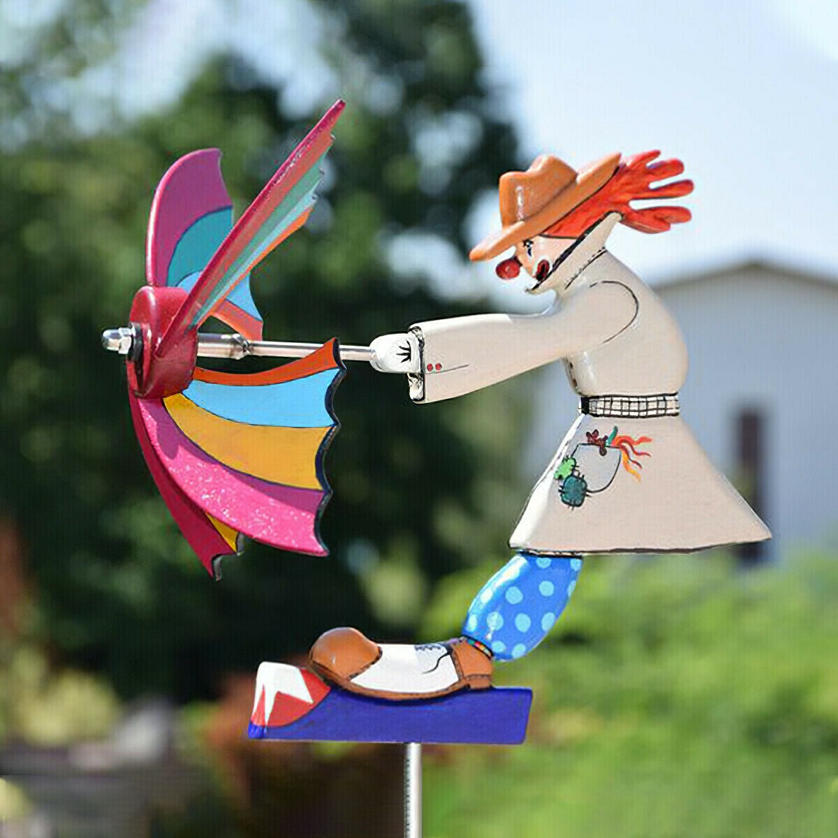 Whirligig Clown Windmill Series Windmill-Garden Windmills,Birthday ...